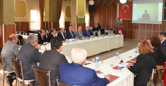 SYDV Mütevelli Heyeti Toplantısı Vali Gürel Başkanlığında yapıldı