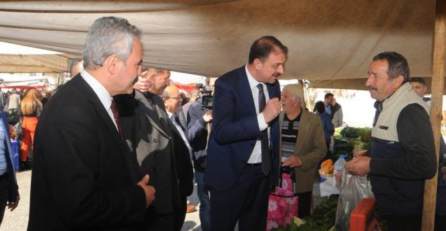 Bakan Yardımcısı Aksu Karabük'te destek istedi