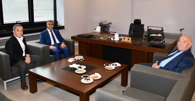Vali Gürel, Yolbulan AŞ'yi Ziyaret Etti
