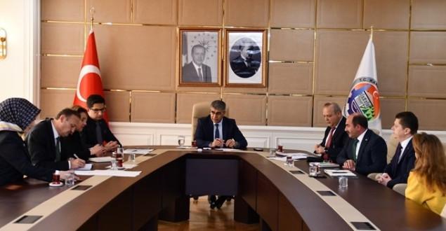 Halk günü toplantısı Vali Gürel başkanlığında yapıldı