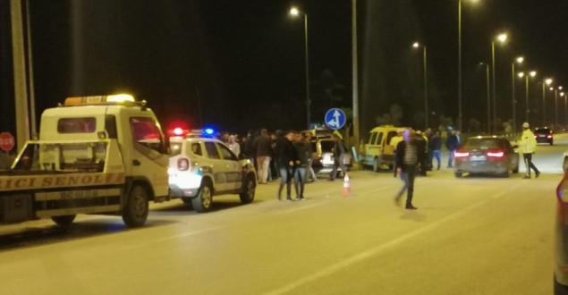 Ticari Taksi İle Otomobil Çarpıştı: 1 Ağır Yaralı