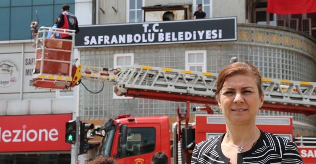 Safranbolu Belediye Hizmet Binasına T.C İbaresi Eklendi