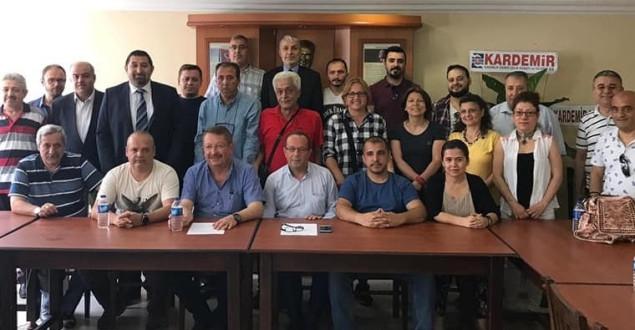 Karabük Gazeteciler Cemiyeti Kongresini Yaptı