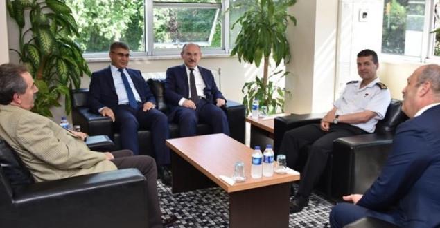 Vali Gürel, Kastamonu'da ziyaretlerde bulundu