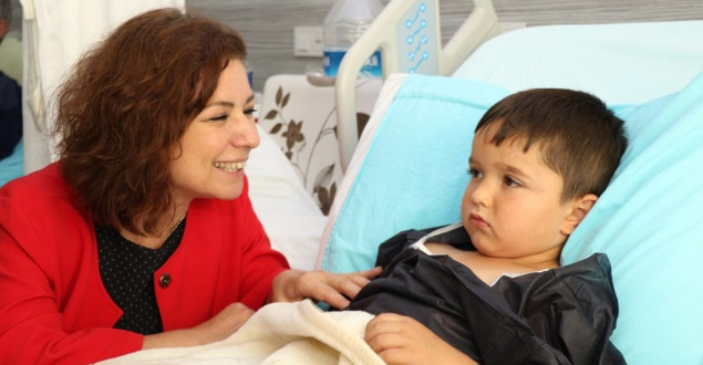 Başkan Köse'den Hastane Ziyareti