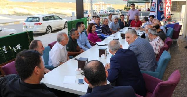 İlk Mahalle Toplantısı Barış'ta Yapıldı