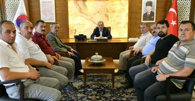Şık ve Karakırık'tan Başkan Vergili´ye Ziyaret