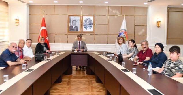Karabük Engelliler Meclisinden Vali Gürel'e nezaket ziyareti