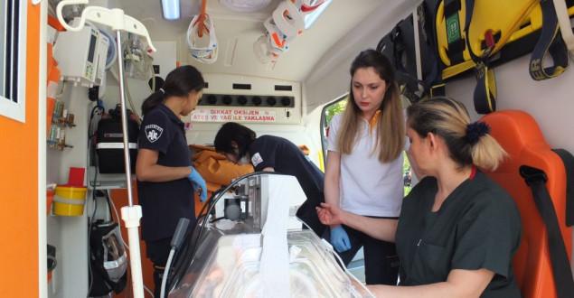 Hava Ambulansı 14 Günlük Bebek İçin Havalandı