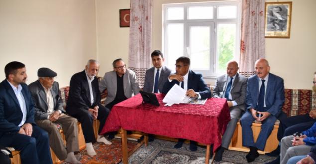Vali Gürel, Eflani'de Ziyaret ve İncelemelerde Bulundu