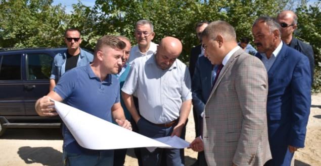 Vali Gürel, Keltepe'de İncelemelerde Bulundu