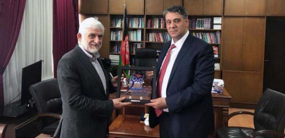 Rektör Polat, Afganistan Büyükelçisini ziyaret etti