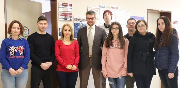 Romanyalı öğrenciler Karabük Üniversitesi'nde