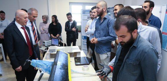 Mekatronik Mühendisliğinden Sektöre Yönelik Projeler