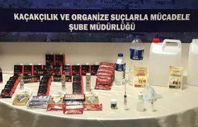 Safranbolu'da Kaçak Alkol Operasyonu: 2 Gözaltı
