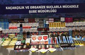 Karabük'te Kaçak Cinsel İçerikli Malzemeler Ele Geçirildi
