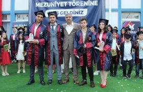 Karabük MY Kolej ilk mezunlarını verdi