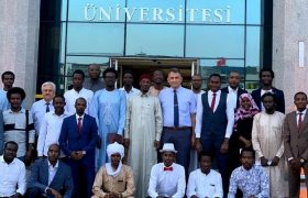 Çad Büyükelçisi KBÜ'de Öğrencilerle İstişare Etti