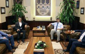 Milletvekillerinden Rektör Polat'a ziyaret