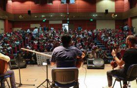 Uluslararası öğrenciler türkülerle keyifli dakikalar yaşadı
