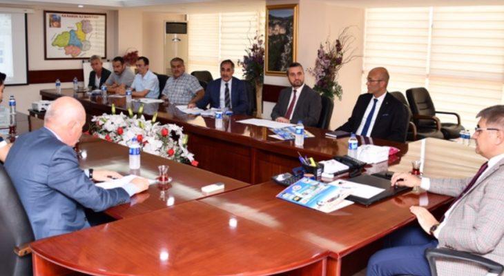 Mekansal Adres Kayıt Sistemi Projesi Değerlendirme Toplantısı Yapıldı