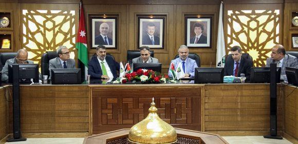 Rektör Polat'tan, Ürdün Al Balqa Üniversitesine ziyaret