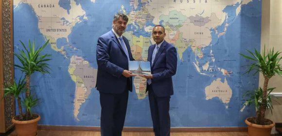 Bangladeş Başkonsolosu İslam'dan Rektör Polat'a ziyaret