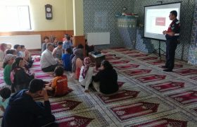 Yenice Jandarmadan Kur'an Kursu Öğrencilerine Trafik Eğitimi