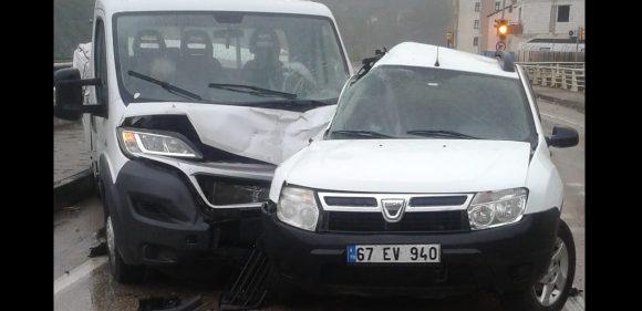 Yenice'de trafik kazası: 1 yaralı