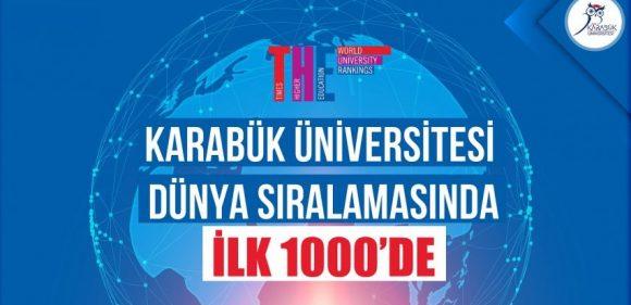 KBÜ, dünyanın en iyi üniversiteleri arasında