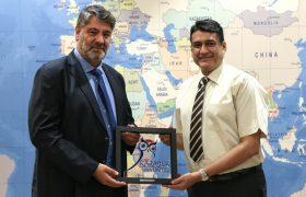 Ghulam Ishak Khan Üniversitesinden, Rektör Polat'a ziyaret