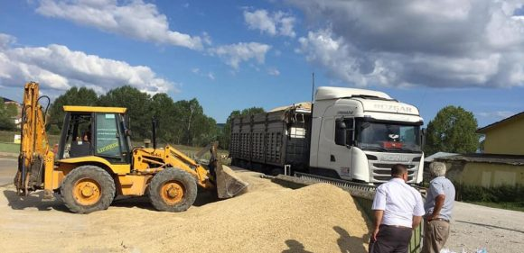 200 Ton Siyez Buğdayı Sevk Edildi
