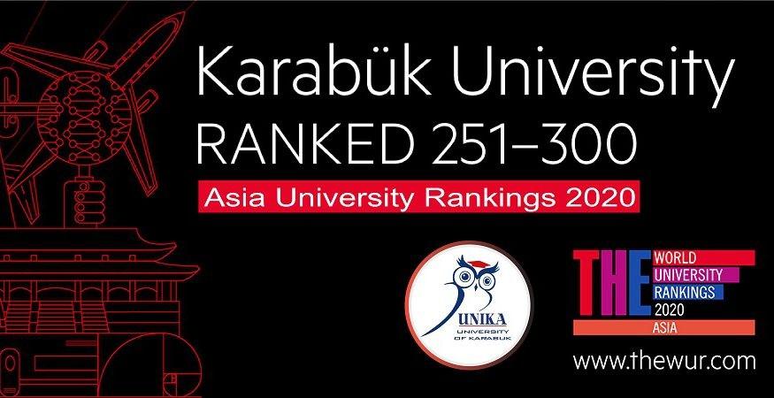 KBÜ, Asya'nın En İyi Üniversiteleri Arasında