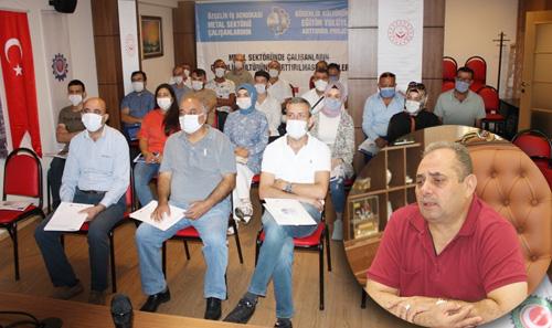 Özçelik-İş Eğitim Projesinin İkincisini Gebze'de Gerçekleştirdi