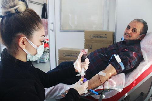 KIZILAY'a Kan Veren Değirmenci Bağış Çağrısı Yaptı